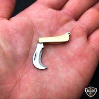 WORLD'S SMALLEST WORKING Karambit Claw Folding Mini Real Blade POCKET KNIFE NEW