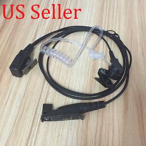 2 WIRE SURVEILLANCE MIC EARPIECE EX500 EX560 EX560XLS RADIO HEADSET