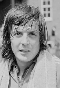 Adriano Panatta of Italy after a training session in London 1977 Tennis PHOTO