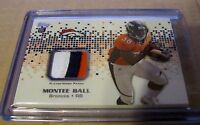 MONTEE BALL - 2013 Topps Rookie 3 Color Patch - Denver Broncos RC