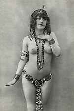 OMG 20s PRINCESS QUEEN NUDE BELLY DANCER FAUX EGYPTIAN CLEOPATRA BREAST PHOTO 5