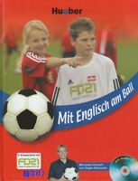 Lehrbuch & CD + Mit Englisch am Ball + Fußball ABC auf Englisch lernen Klinsmann