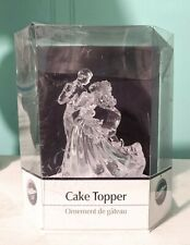 Wilton 2006 New Cake Topper Wedding Couple 202-424 - New - Bianca Clear
