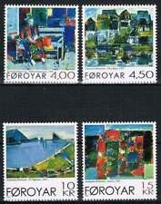 Faeroer/Faroer postfris 2001 MNH 404-407 - Schilderijen