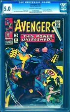 Avengers #29 CGC 5.0 -- 1966 -- Goliath. Swordsman. Black Widow #1029035003