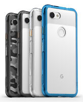 For Google Pixel 3a / 3a XL | Ringke [FUSION] Clear Shockproof PC TPU Cover Case