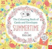 The National Trust: The Colouring Book of Cards and Envelopes - Summertime (Colo