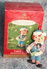 Hallmark Keepsake Ornament New Collector Series Raddedy Andy 2001