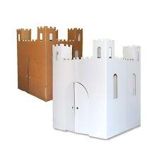 Playhouse Castle Play House Portable Kids Toy Indoor Pretend Art DIY Cardboard
