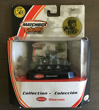 Matchbox Collectibles 50th Anniversary U.S. Army Camo M4A3 Sherman Tank