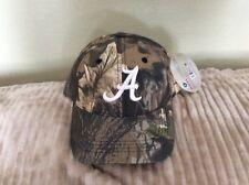 Alabama Crimson Tide CAMO Mossy Oak Hat  Adjustable