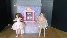 ONLY HEARTS CLUB Doll Ballet Studio/Theater & 2 Dolls