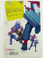 Marvel ILLUMINATI (2016) #2 TEDESCO 1:25 VARIANT Villains VF/NM Ships FREE!