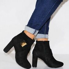 Unbranded Suede Ankle Boots Casual Shoes for Women