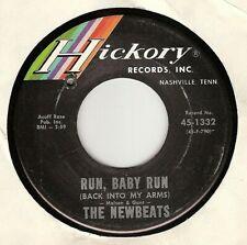 45RPM, NEWBEATS ' RUN BABY RUN ' EXC ' FOLK PSYCH ROCK