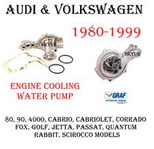Audi & Volkswagen Engine Cooling Water Pump Assembly For Fox,Golf,Jetta,Passat