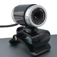 For PC Laptop Desktop With Microphone 1080P HD Webcam Camera Web Computer W7F4