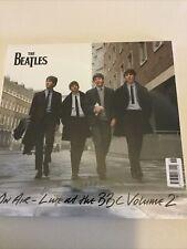 THE BEATLES Live  BBC Volume 2 Vinyl Triple Album LP Deagostini Sealed New