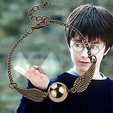 Harry Potter Golden Snitch Bracelet Bronze with Luxury Velvet Bag