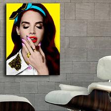 Poster Mural Lana Del Rey Musician 40x53 in (100x133cm) Adhesive Vinyl