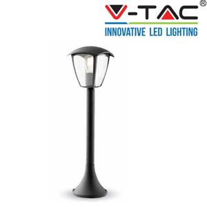 Lampione da giardino lanterna in Plastica  e27 luce da esterno alluminio 60x17 c