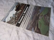 FINDING & MINDING Report of ARCHAEOLOGICAL WORK in NORTHERN IRELAND 1983-86