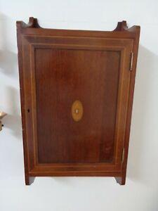 Edwardian Wall Shelf Cabinet with Key