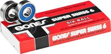 BONES SUPER SWISS 6 BALL SINGLE SET SKATE BEARINGS