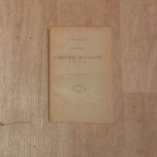 MICHELET Jules. Précis de l'histoire de France au Moyen Age. Calmann Lévy. 1898.