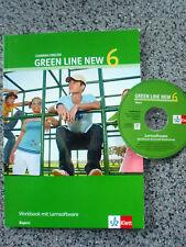 GREEN LINE  NEW  6   Workbook mit  Lernsoftware  -   Klett   NEUWERTIG