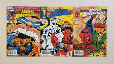 Marvel Adventures (1997) Lot of 3 Comics 9 10 11 (ft. Spider-Man Fantastic Four)