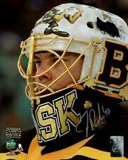 Tuukka Rask Boston Bruins Signed Autographed 2019 Winter Classic Mask 8x10