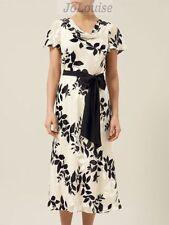 Cowl Neck Formal Floral Regular Size Dresses for Women