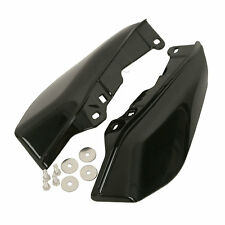 Black Mid-Frame Air Deflectors For Harley Touring Road King Tri Glide 2009-2016