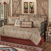 Bandera Southwest Daybed Bedding 7 Piece Set Multi Warm