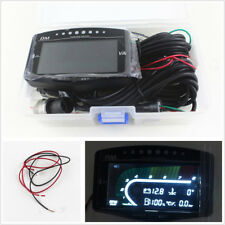 5in1 Multifunction Car LCD Digital Oil Pressure+Volt+Water Temp+Fuel+Tacho Guage