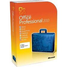 Microsoft Office 2010 Professional Plus ORIGINAL Licencia