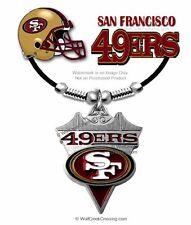 "SAN FRANCISCO 49ERS NECKLACE for MALE/FEMALE FOOTBALL 24"" SPORTS - FREE SHIP LA"