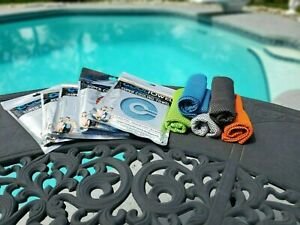 [5 PACK] SUPER COOLING TOWEL for Sports Running Yoga Gym Outdoor Fitness & More!