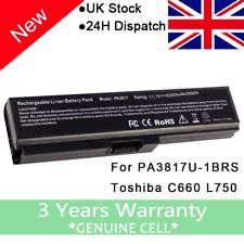 New Battery PA3817U-1BRS For Toshiba Satellite C660 L730 L755 L750 PA3817U-1BAS