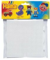 Hama Beads - Square   Round Pegboard Large  Midi Beads