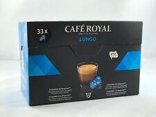 33 Kapseln Cafe Royal für Nespresso der Sorte Classic Lungo 6,38€/100gr.