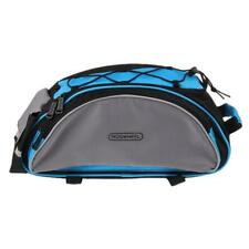 Cycling Rack Bag Bike Bicycle Rear Trunk Bag Luggage Carry Pannier Bag Blue