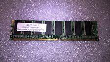 Memoria DDR Samsung 1GB PC3200 DDR-400MHz CL3 184-Pin