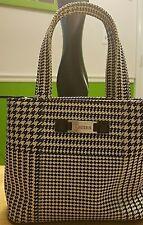Ralph Lauren Mini Black/White/Blue Handbag! Excellent Condition!