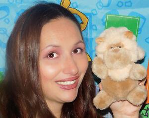 "Gund 1989 VINTAGE LITTLE TAN LION 6"" Plush Stuffed Animal Toy KING JUNGLE CAT"