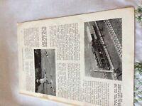 m11b ephemera 1956 picture meccano bhornby railway layout r herington