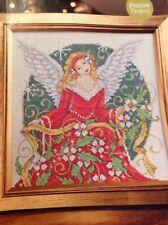 Joan Elliott Festive Angel Christmas Cross Stitch Chart