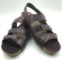 Easy Spirit Women's Sandals, Pretty Purple Size 9, M Width, Cute and Comfortable