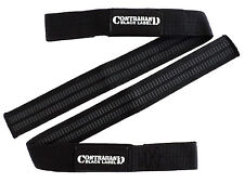 Contraband Black Label 2050 Rubber Threaded PRO Lifting Straps 2-4 DAY SHIPPING!
